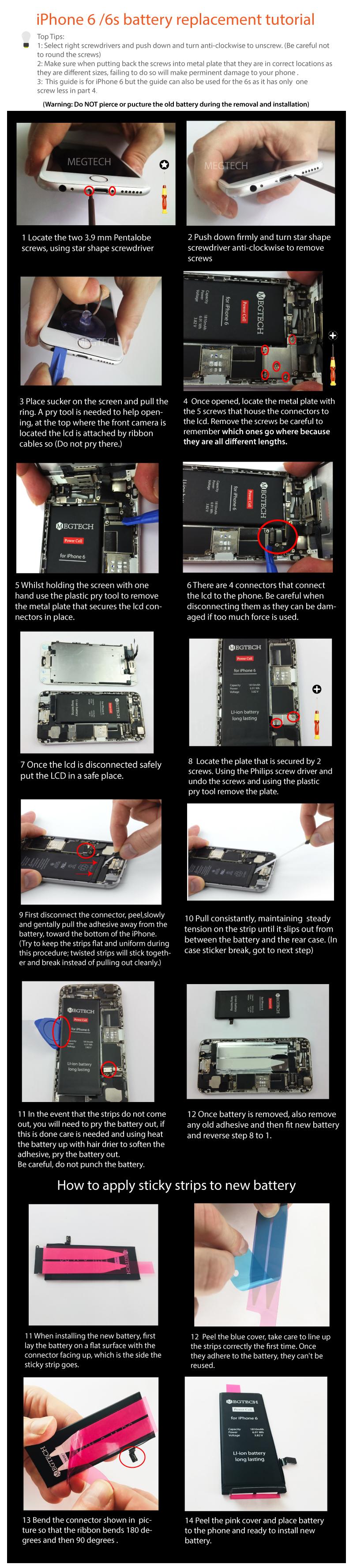 iphone 6 battery tutorial
